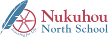 nukuhou north school logo